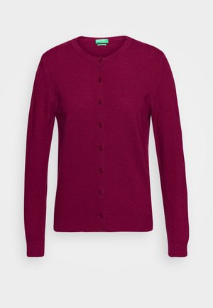 Cardigan - burgandy