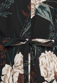 Vero Moda - VMSIMPLY EASY LONG DRESS - Blusenkleid - black/multi coloured - 2