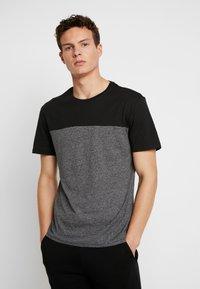 Pier One - T-shirt med print - black - 0