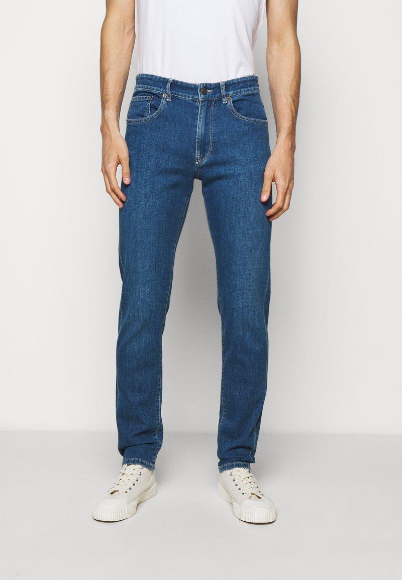 Boglioli - Straight leg jeans - dark blue denim