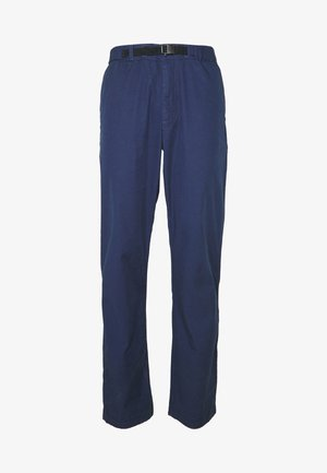 PANTS - Tygbyxor - new navy