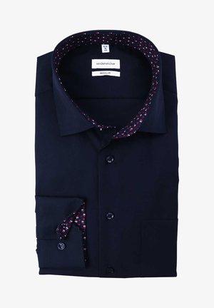 REGULAR FIT - Formal shirt - dunkelblau
