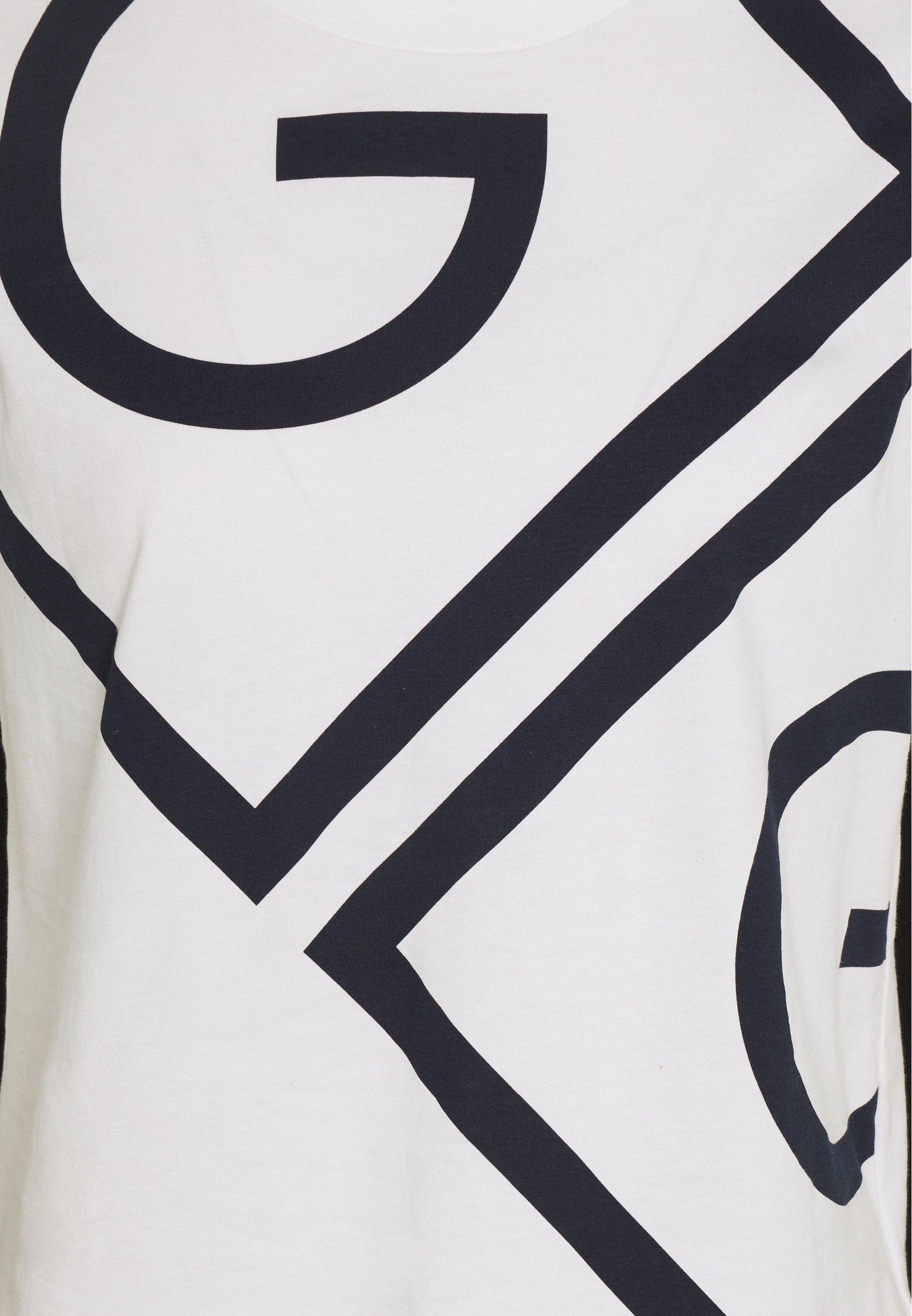 Official Women's Clothing GANT ICON  Print T-shirt eggshell zo1tifBjT
