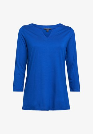 Long sleeved top - bright blue