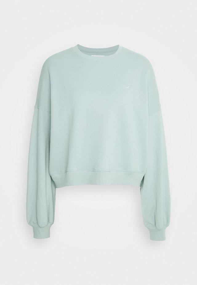 ICON CREW - Sweater - blue/green