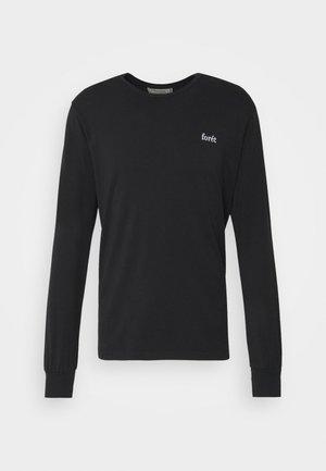WIND LONGSLEEVE - Long sleeved top - black