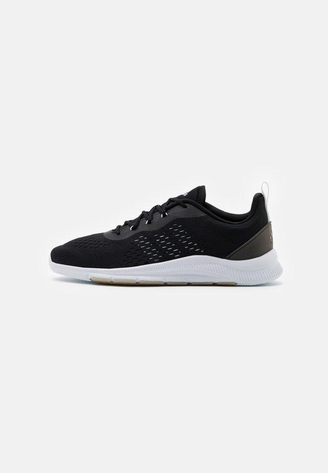 TRAINER X - Sportschoenen - core black/footwear white/grey two