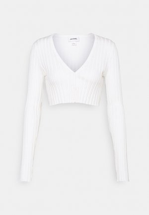 DORIS CROPPED CARDIGAN - Vest - off white
