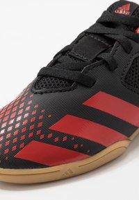 adidas Performance - PREDATOR 20.4 IN SALA - Halówki - core black/active red - 2