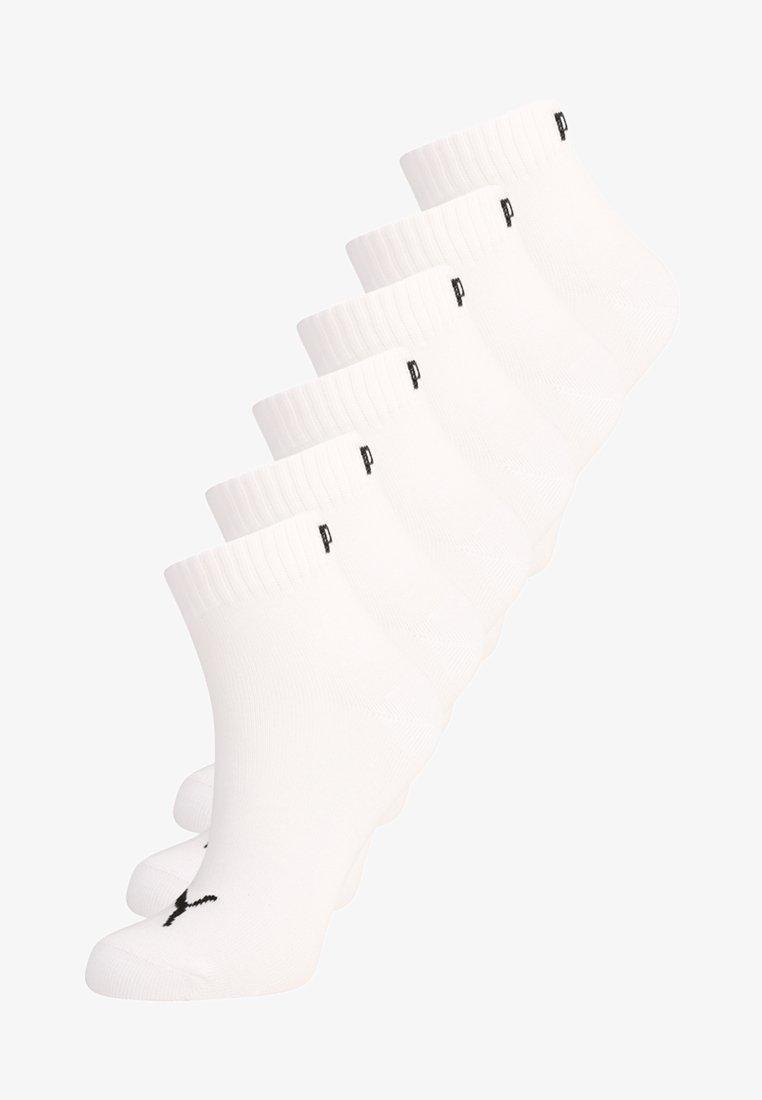 Puma - QUARTER 6 PACK - Sports socks - white