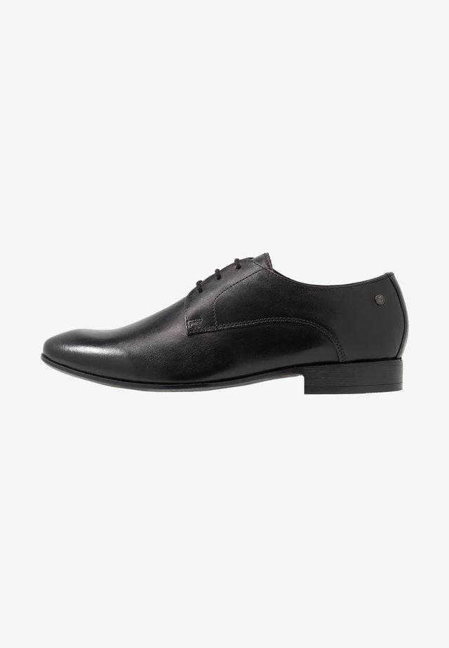 DANSEY - Smart lace-ups - waxy black