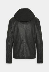 Strellson - FANE - Leather jacket - black - 6