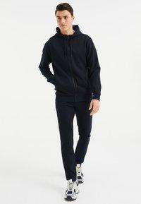 WE Fashion - Zip-up hoodie - dark blue - 1