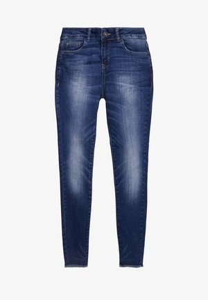 TROUSERS - Slim fit jeans - dark blue