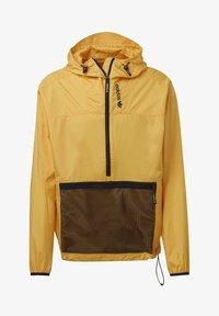 adidas Originals - ADVENTURE ANORAK - Windbreaker - gold - 7
