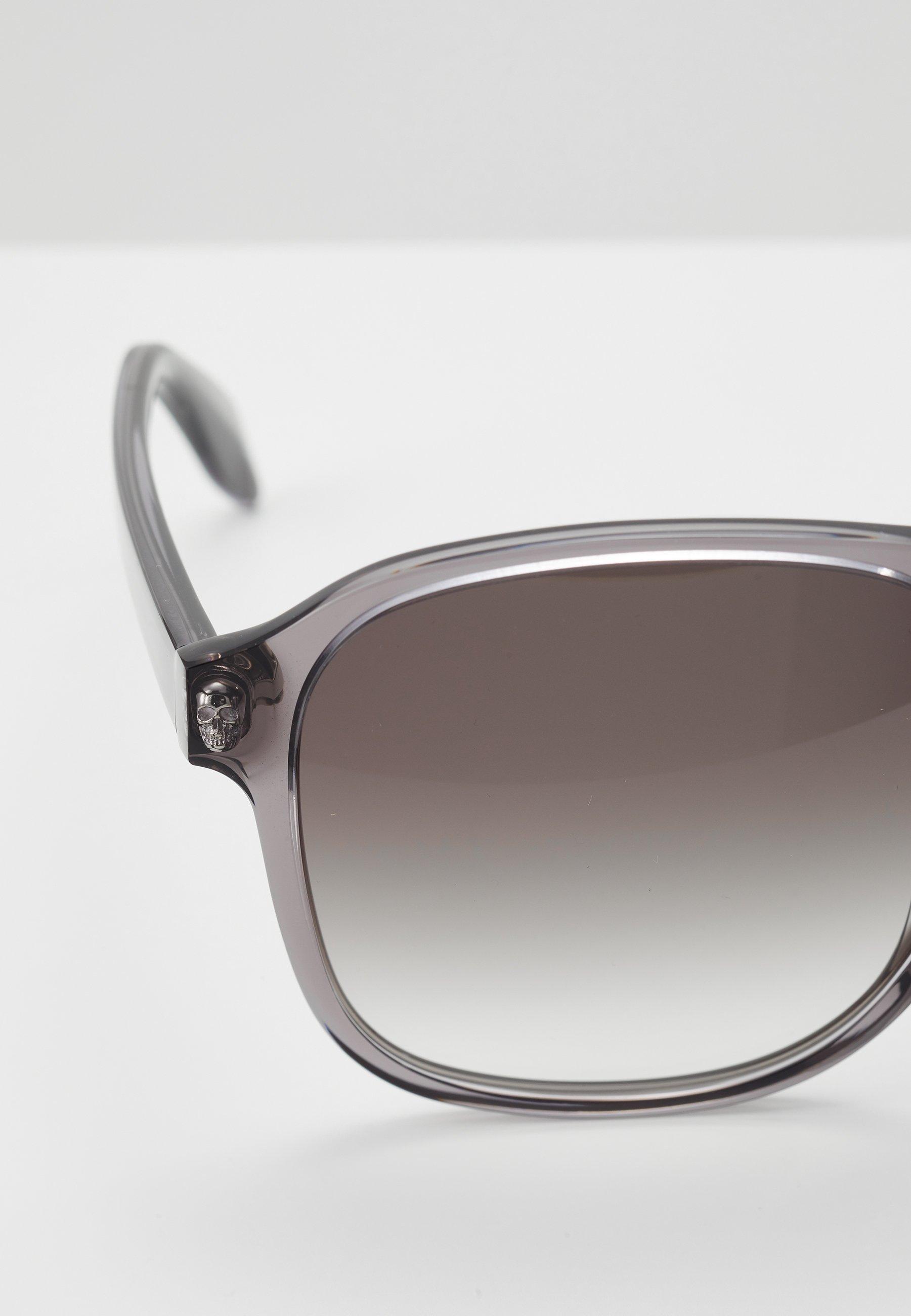 Alexander McQueen SUNGLASS  - Lunettes de soleil - grey/grey