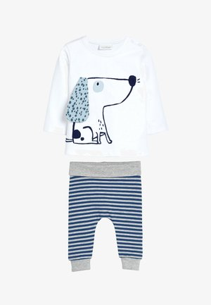 GOTS ORGANIC STRETCH  - Trousers - white