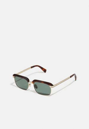 UNISEX - Sunglasses - tortoise/gold-coloured