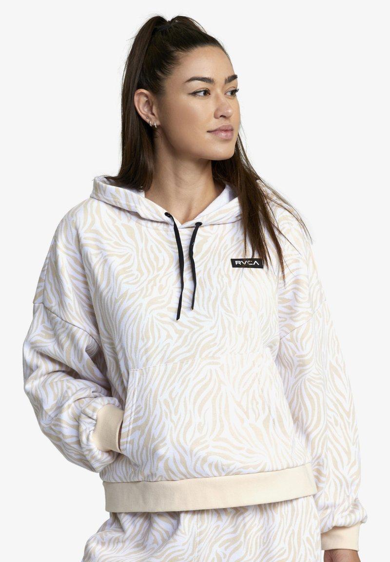 RVCA - Hoodie - white zebra