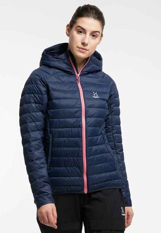 Winter jacket - tarn blue