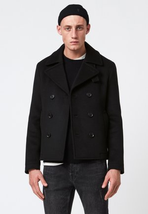 JUNCAL PEA - Classic coat - black
