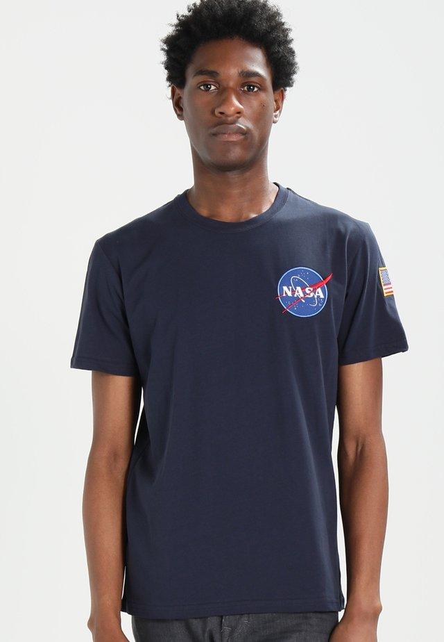 176507 - Print T-shirt - blue