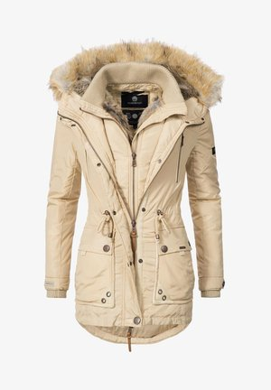 GRINSEKATZE - Winter coat - beige