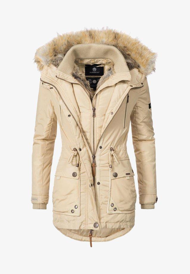 GRINSEKATZE - Winter coat - beige