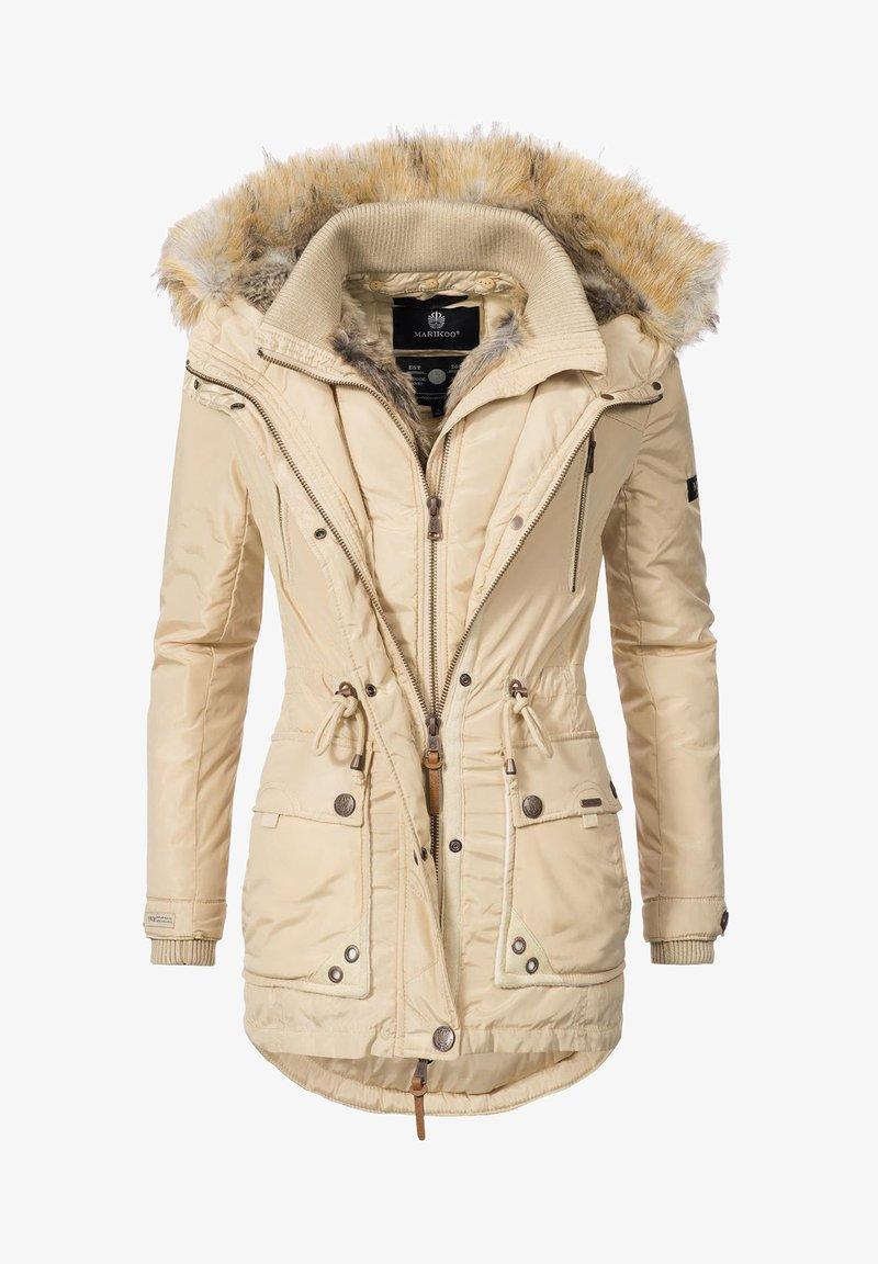 Marikoo - GRINSEKATZE - Winter coat - beige