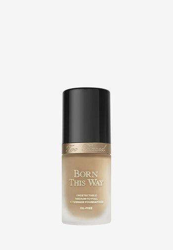 BORN THIS WAY FOUNDATION - Foundation - warm beige