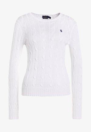 CLASSIC - Pullover - white
