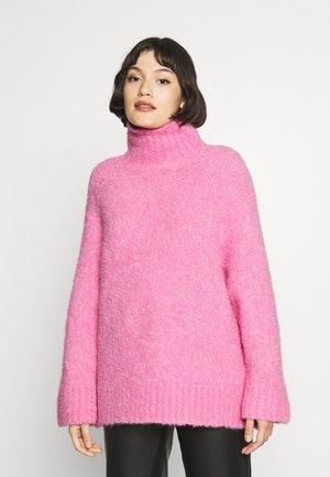 SLFMYAH ROLL NECK - Jumper - prism pink