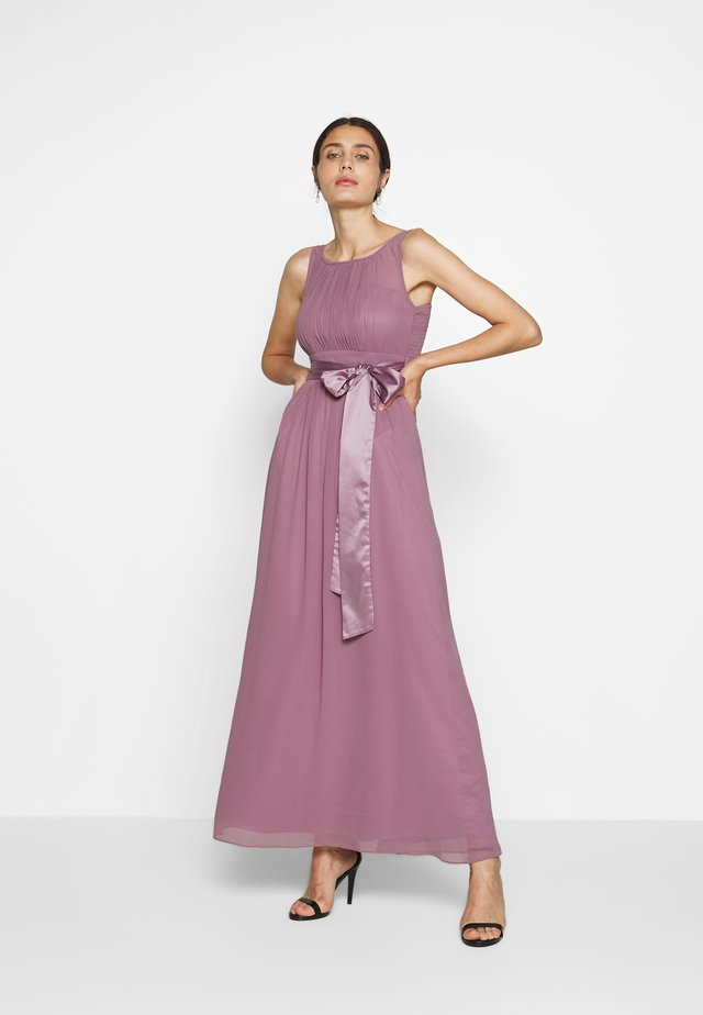 NATALIE DRESS - Festklänning - dark rose