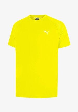 Sports shirt - yellow alert