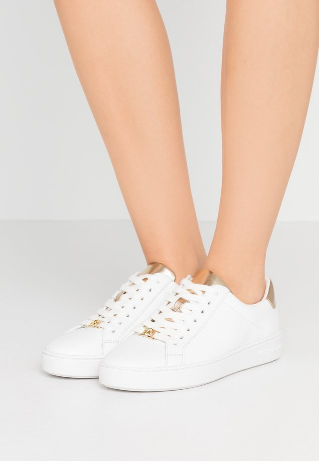 IRVING LACE UP - Sneaker low - white