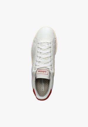 ADVANTAGE SNEAKER HERREN - Trainers - footwear white / scarlet red