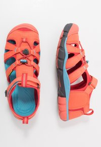 Keen - SEACAMP II CNX - Walking sandals - coral/poppy red - 0