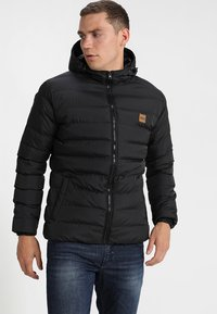 Urban Classics - BASIC BUBBLE JACKET - Winter jacket - black - 0