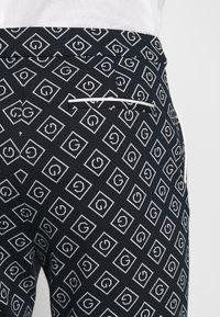 GANT - CIGARETTE PANT - Trousers - evening blue - 3
