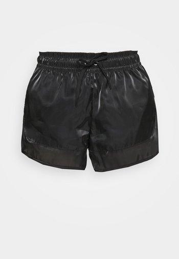 AIR SHEEN - Shorts - black/white