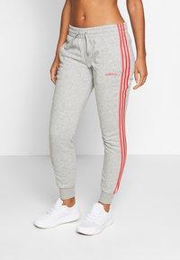 adidas Performance - PANT - Tracksuit bottoms - grey/pink - 0