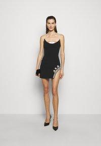 David Koma - Shift dress - black - 1
