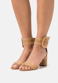 Casadei - Ankle cuff sandals - hanoi florence/natur - 0