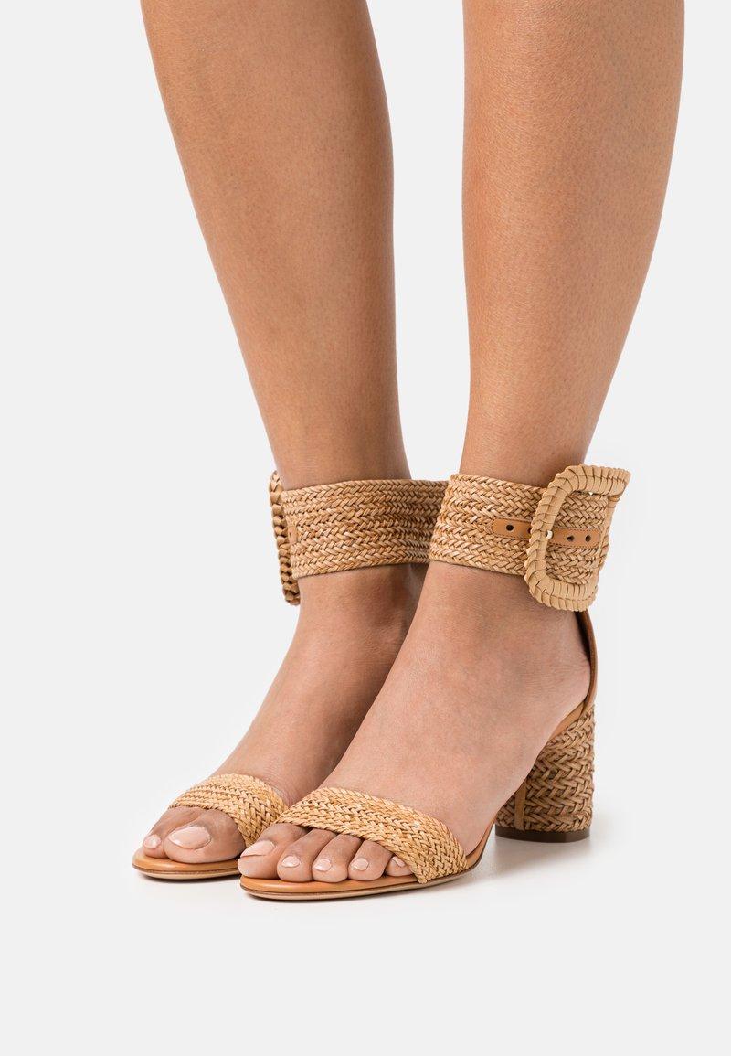 Casadei - Ankle cuff sandals - hanoi florence/natur