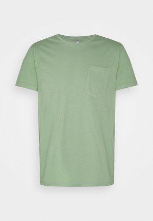 WILLIAMS POV TEA DYED - T-shirt - bas - sea green