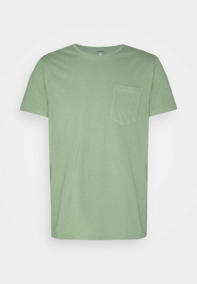 WILLIAMS POV TEA DYED - T-shirt basic - sea green