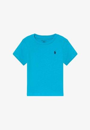 Jednoduché triko - liquid blue