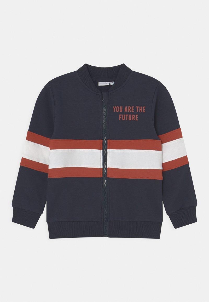 Name it - NMMLAUST CARD BOX - Zip-up sweatshirt - dark sapphire