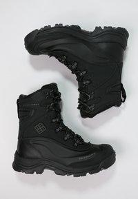 Columbia - BUGABOOT PLUS III OMNI-HEAT - Winter boots - black/charcoal - 1