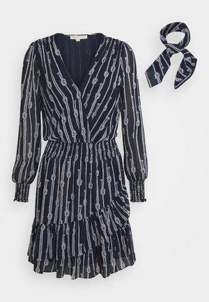 SAILOR KNOT - Korte jurk - dark blue